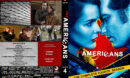The Americans - Season 4 (2016) R1 Custom Cover & Labels