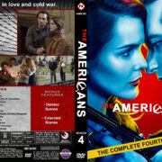 The Americans - Season 4 (2016) R1 Custom Cover & Labels