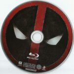 Deadpool (2016) R1 Blu-Ray Label