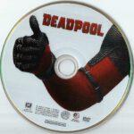 Deadpool (2016) R1 DVD Label
