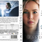 Passengers (2016) R2 Swedish Custom Blu-Ray Cover + label