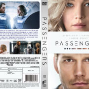 Passengers (2016) R2 Swedish Custom DVD Cover + label
