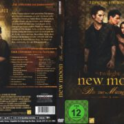 New Moon . Biss zur Mittagsstunde (2009) R2 German Cover & Labels