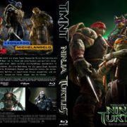 Ninja Turtles (2014) R2 German Blu-Ray Custom Cover