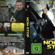 Non-Stop (2014) R2 German Custom Cover & Label