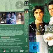 Numbers Staffel 1 (2005) R2 German Custom Cover