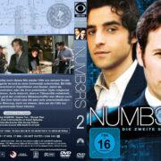 Numbers Staffel 2 (2006) R2 German Custom Cover