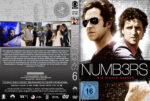 Numbers Staffel 6 (2010) R2 German Custom Cover & Labels