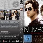 Numbers Staffel 6 (2010) R2 German Custom Cover & Labels