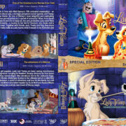 Lady and the Tramp Double Feature (1955-2001) R1 Custom Cover