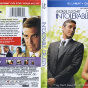Intolerable Cruelty (2003) R1 Blu-Ray Cover & Label