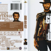 The Good The Bad And The Ugly (1966) R1 Blu-Ray Cover & Label