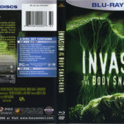 Invasion Of The Body Snatchers (1978) R1 Blu-Ray Cover & Label