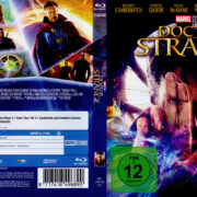 Doctor Strange (2016) R2 German Blu-Ray Cover