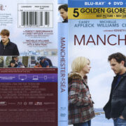Manchester By The Sea (2016) R1 Blu-Ray Cover & Labels