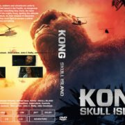 Kong Skull Island (2017) R0 CUSTOM Cover & Label