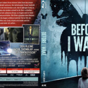 Before I Wake (2016) R2 German Custom Blu-Ray Cover & Labels