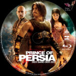 Prince of Persia: The Sands of Time (2010) R2 German Custom Blu-Ray Labels