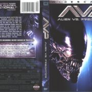 Alien vs. Predator (2004) R1 Blu-Ray Cover & Label