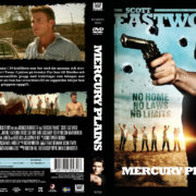 Mercury Plains (2016) R2 Swedish Custom DVD Cover + label