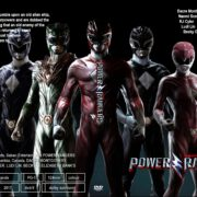 Power Rangers (2017) R0 CUSTOM Cover & Label