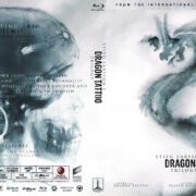 Dragon Tattoo - 3-Movie Collection (2009) R1 Blu-Ray Cover
