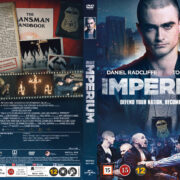 Imperium (2016) R2 Nordic Retail DVD Cover + custom label