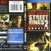 Street Kings 2 (2011) R1 Blu-Ray Cover & Label