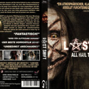 Last Ship (2014) R2 German Custom Blu-Ray Cover & Label