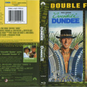 Crocodile Dundee & Crocodile Dundee II (1988) R1 Blu-Ray Cover & Labels