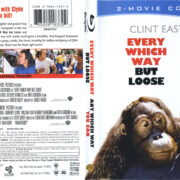 Every Which Way But Loose & Any Which Way You Can (1978-1980) R1 Blu-Ray Cover & Labels