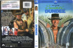 Crocodile Dundee (1986) R1 DVD Cover & Label