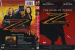 The Mask Of Zorro (1998) R1 DVD Cover & Label