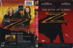 The Mask Of Zorro (1998) R1 DVD Cover & Label