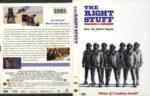 The Right Stuff (1983) R1 DVD Cover & Label