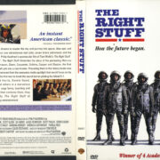 The Right Stuff (1983) R1 DVD Cover & Label
