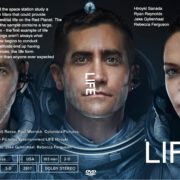 Life (2017) R0 CUSTOM Cover & Label