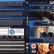 47 Ronin / RIPD / Immortals 3D (2013) UC R2 CUSTOM Blu-Ray Cover & Labels
