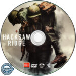 Hacksaw Ridge (2016) R4 DVD Label