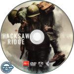 Hacksaw Ridge (2016) R4 DVD Label
