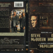 Papillon (1973) R1 DVD Cover & Label