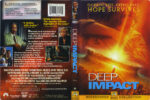Deep Impact (1998) R1 DVD Cover & Label
