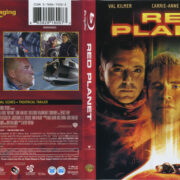 Red Planet (2000) R1 Blu-Ray Cover Cover & Label