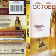 October Baby (2011) R1 Blu-Ray Cover & Label