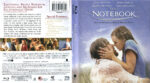 The Notebook (2004) R1 Blu-Ray Cover & Label