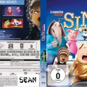 Sing (2017) R2 Custom German Blu-Ray Cover