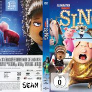 Sing (2017) R2 Custom German DVD Cover