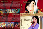 Mulan Double Feature (1998-2004) R1 Custom Cover