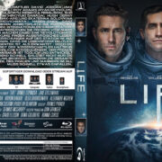 Life (2017) R2 German Custom Blu-Ray Cover & Labels