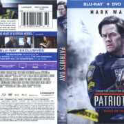 Patriots Day (2016) R1 Blu-Ray Cover & Labels